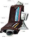 Кожаное портмоне с защитой RFID - Успейте сделать подарок!, фото 10