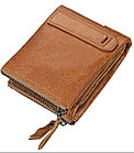 Кожаное портмоне RFID protected - защити себя!, фото 5