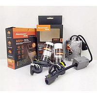 Комплект ксеноновых ламп Aozoom FBL, +50%, H7 H11 HB4 H1 HB3 H3, 5500K, 35W, AMP