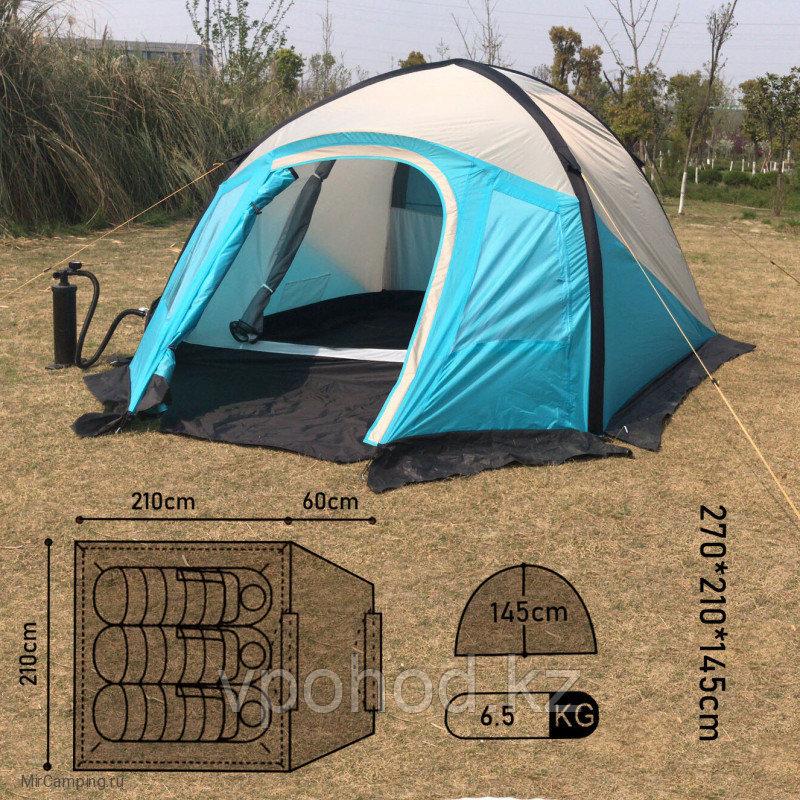 Надувная палатка трехместная MIMIR 800