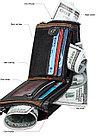 Портмоне кожаное RFID protected - ваша безопасность!, фото 8