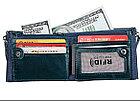 Портмоне кожаное RFID protected - ваша безопасность!, фото 6