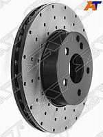 Комплект дисков тормозных передний перфорированные MERCEDES C204 /W204 /S204