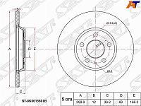Диск тормозной задний AUDI Q5 /A4 /A5 /A6 08-