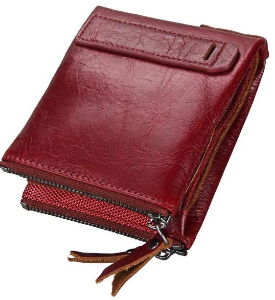 Портмоне кожаное RFID protected - отличный подарок!