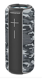 Портативная колонка Hopestar P30 серый камуфляж