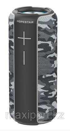 Портативная колонка Hopestar P30 серый камуфляж, фото 2