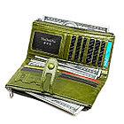 Длинное кожаное портмоне с RFID-защитой. Отличный подарок! Рассрочка. Kaspi red., фото 7