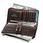 Кожаное длинное портмоне с RFID protected - ваша безопасность превыше всего!, фото 6