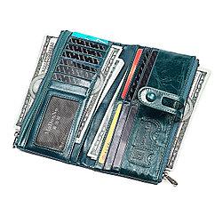 Длинное портмоне из кожи RFID protected - ваша безопасность превыше всего!