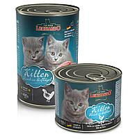756145 Leonardo Kitten Rich in Poultry, Корм для котят на основе высококачественного мяса, 200 гр.