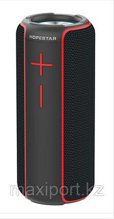 Портативная колонка Hopestar P30  черно-красная, фото 2