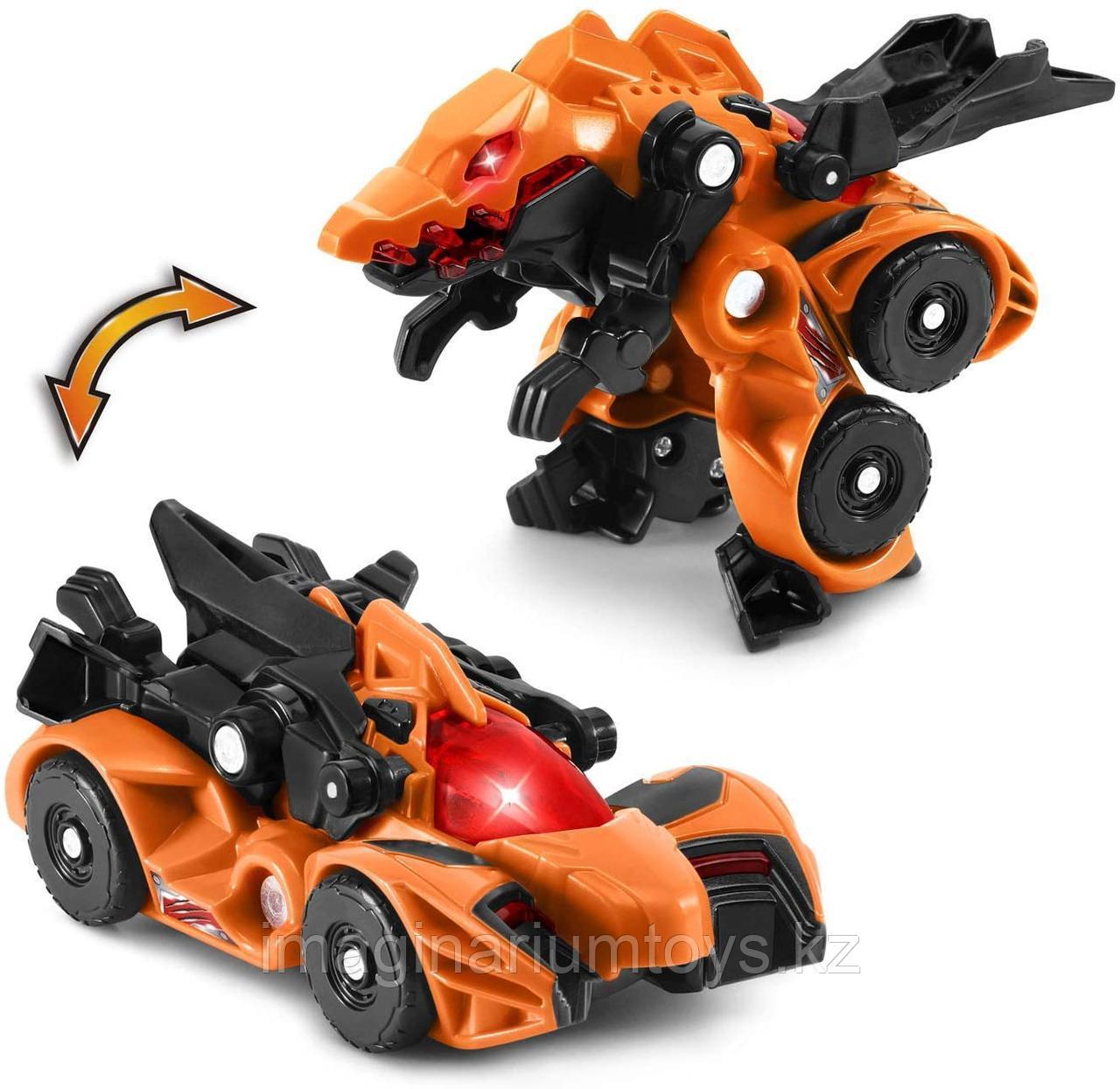 Машинка мини трансформер Динозавр Спинозавр VTech
