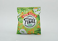 Сухарики ТМ Флинт Сухарики сметана с зеленью 110 гр.