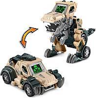 Динозавр трансформер машинка бульдозер VTech T-Rex., фото 1