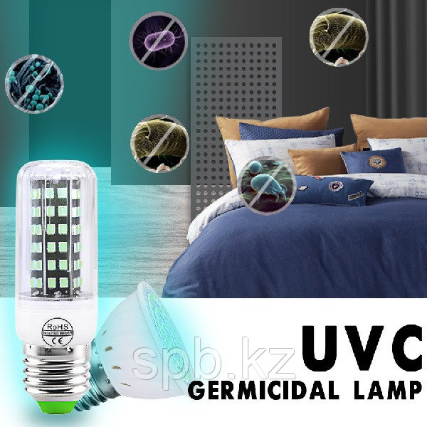УФ бактерицидная лампочка Е27 - фото 3