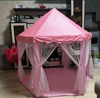 Шатер палатка детская розовая
