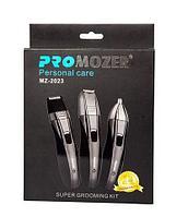 Триммер PROMOZER 3-в-1 [нос / уши / борода] MZ-2023
