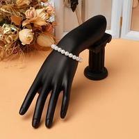 Подставка для украшений 'Рука', 10*5*23,5*13 см, цвет чёрный