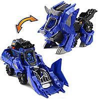 Машинка бульдозер трансформер динозавр Трицератопс VTech Switch&Go Dinos, фото 1