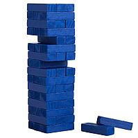 Игра «Деревянная башня мини», синяя, фото 1