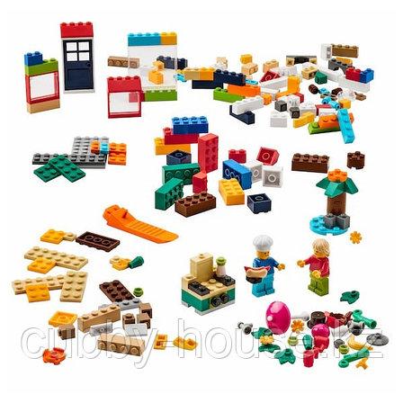 BYGGLEK БЮГГЛЕК Набор LEGO®, 201 деталь, разные цвета, фото 2