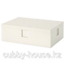 BYGGLEK БЮГГЛЕК LEGO® контейнер с крышкой35x26x12 см, фото 2