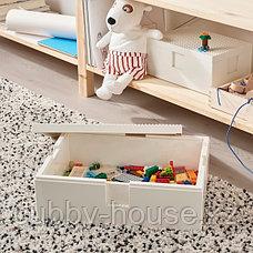 BYGGLEK БЮГГЛЕК LEGO® контейнер с крышкой35x26x12 см, фото 3