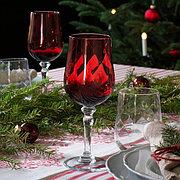 VINTER 2020 ВИНТЕР 2020 Бокал для вина, прозрачное стекло/красный33 сл