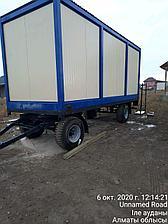 Вагон дом передвижной на шасси по Казахстану