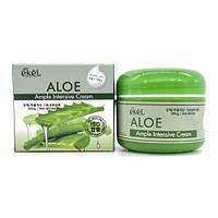 Aloe Ample Intensive Cream [Ekel] Увлажняющий и успокаивающий крем для лица 100 мл
