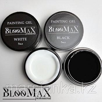 Гель краска BlooMax extra white, 5мл