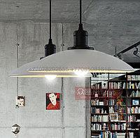 Черно-белый подвес-тарелка Loft Style Metall, фото 1