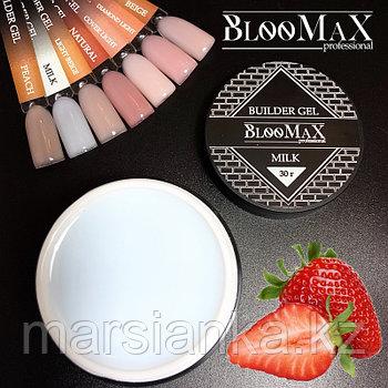 Гель для моделирования Builder Gel Milk BlooMax, 30гр