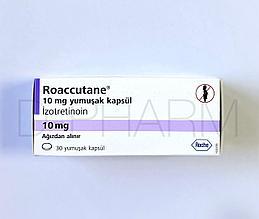 Роаккутан Изотретиноин 10 мг 30 капсул (Roaccutane Isotretinoin)