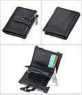 Кожаное портмоне от воровства с карточек - технология RFID. Лучший подарок!, фото 4