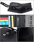 Кожаное портмоне от воровства с карточек - технология RFID. Лучший подарок!, фото 6