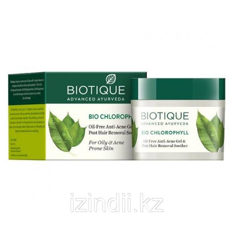 Гель для проблемной кожи БИО ХЛОРОФИЛЛ (BIO CHLOROPHYLL), Биотик, Biotique, 50 мл