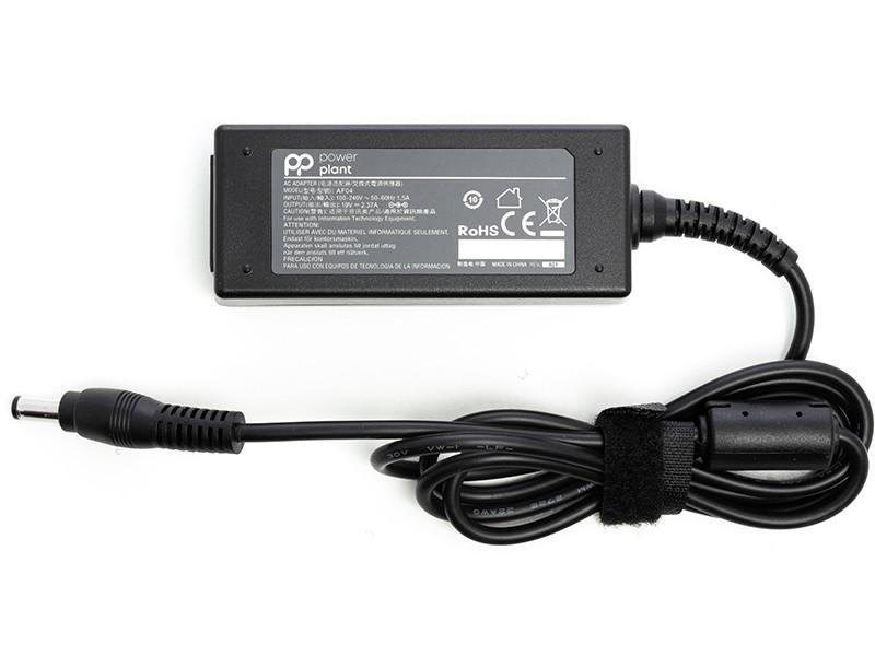 Блок питания для ноутбуков PowerPlant ASUS 220V, 19V 45W 2.37A (5.5*2.5)