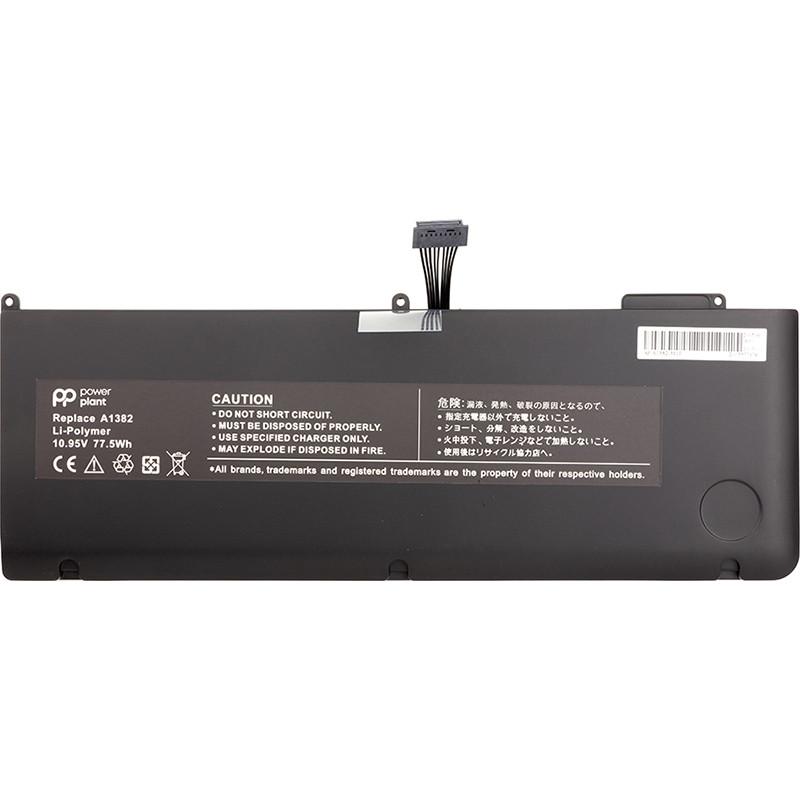 """Аккумулятор для ноутбуков APPLE MacBook Pro 15.4"""" (A1286, A1382) 10.95V 77.5Wh (original)"""