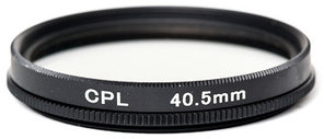 Светофильтр PowerPlant CPL 40.5 мм