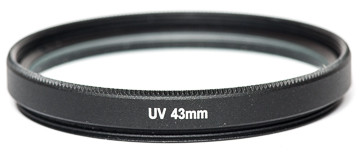 Светофильтр PowerPlant UV 43 мм