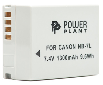 Аккумулятор PowerPlant Canon NB-7L 1300mAh