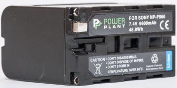Aккумулятор PowerPlant Sony NP-F960, NP-F970 6600mAh