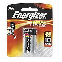 Элемент питания LR6 AA Energizer MAX  Alkaline 2 штуки в блистере.