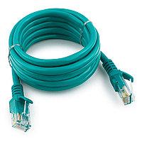 Патч-корд UTP Cablexpert PP12-2M/G кат.5e, 2м, литой, многожильный (зелёный)