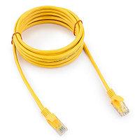 Патч-корд UTP Cablexpert PP12-3M/Y кат.5e, 3м, литой, многожильный (жёлтый)
