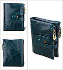 Кожаное портмоне от воровства с карточек - технология RFID. Подарок!, фото 5