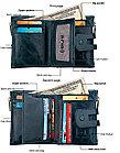 Кожаное портмоне от воровства с карточек - технология RFID. Подарок!, фото 4