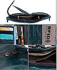 Кожаное портмоне от воровства с карточек - технология RFID. Подарок!, фото 6